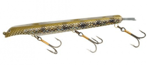 Suick Weighted Holographic Musky Thriller Jerkbait