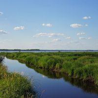Озеро в с. Канава