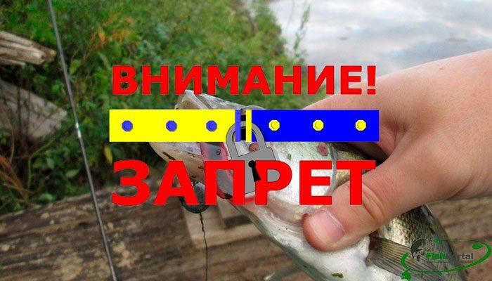 Нерестовый запрет на рыбалку в Николаевской обл. весной 2018 года