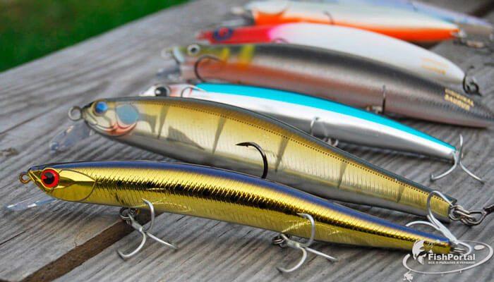 Ловля рыбы на воблеры: разновидности искусственной приманки