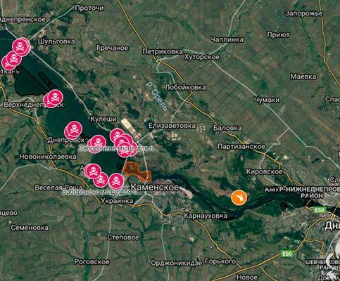 Зимовальные ямы 2018-2019 в Днепропетровской области